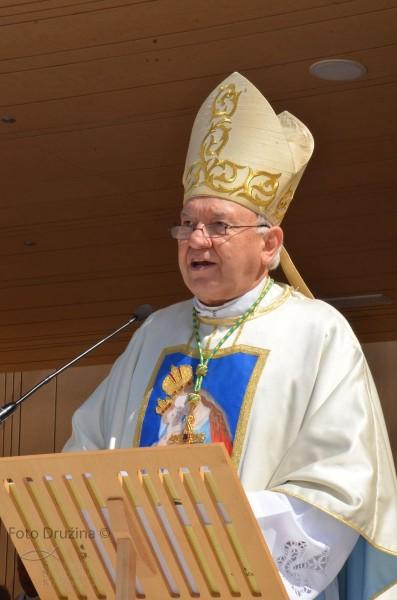 Nagovor koprskega škofa msgr. dr. Jurija Bizjaka ob svoji zlati maši